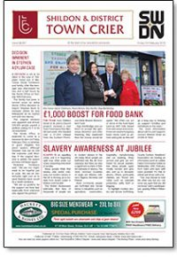 Town Crier Issue 857 Front Cover