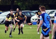 Durham Tigers in action at the weekend against Peterlee Pumas.