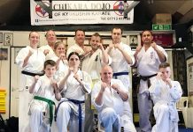 Members of Spennymoor's Chikara Dojo were tested on technique, stamina and ability.