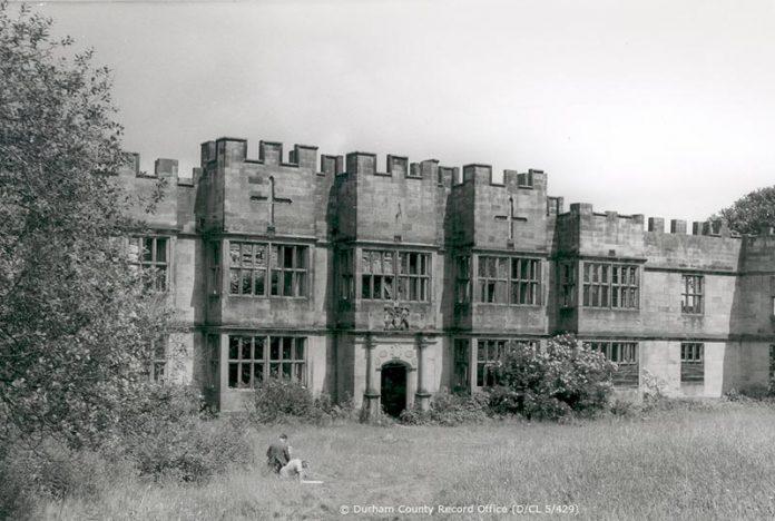 Gibside Hall, mid 20th C. (DCRO Ref: D/CL 5/429)
