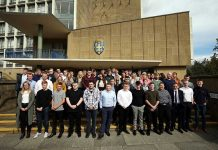 Apprentices at their induction in 2019