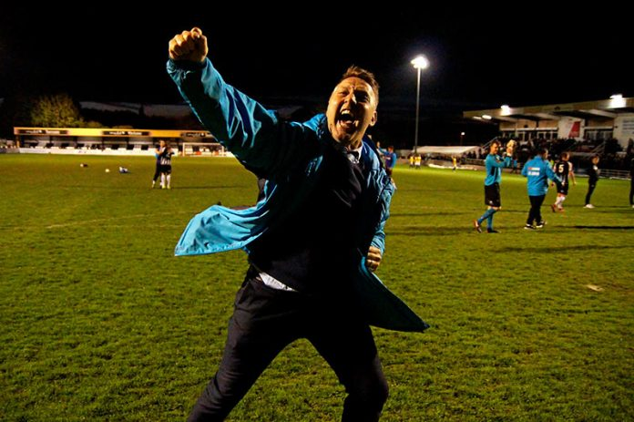 Former Spennymoor Town manager, Jason Ainsley.