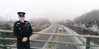 PCSO Aaron Sparrow-Woods of Ferryhill Neighbourhood Policing Team