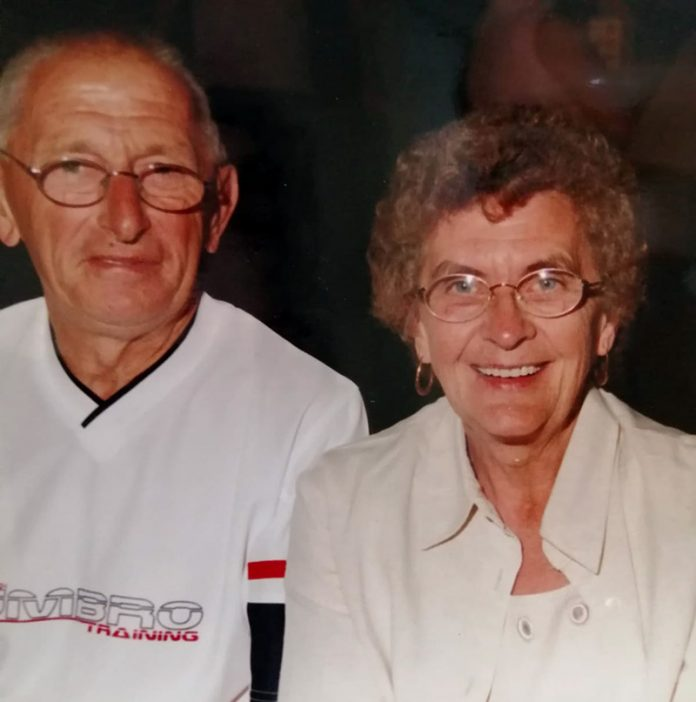 Derek and Olive Reay