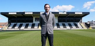 Spennymoor Town FC Manager,Tommy Miller.